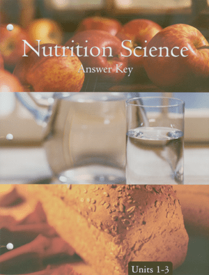Nutrition Science Score Key 1-3