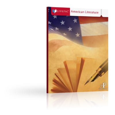 American Literature Unit 2 Worktext from Alpha Omega Publications