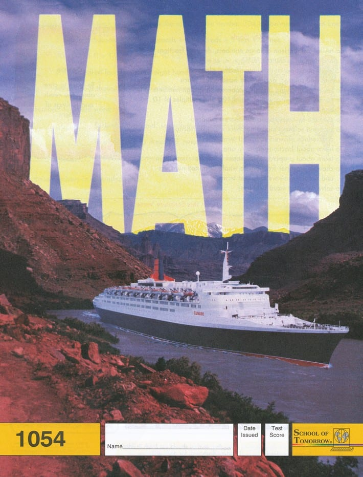 5th grade math pace 1054 by accelerated christian education. Black Bedroom Furniture Sets. Home Design Ideas