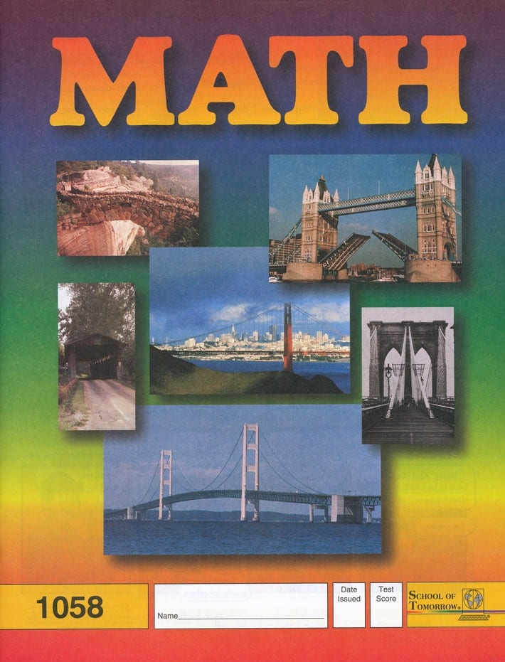 5th grade math pace set by accelerated christian education. Black Bedroom Furniture Sets. Home Design Ideas