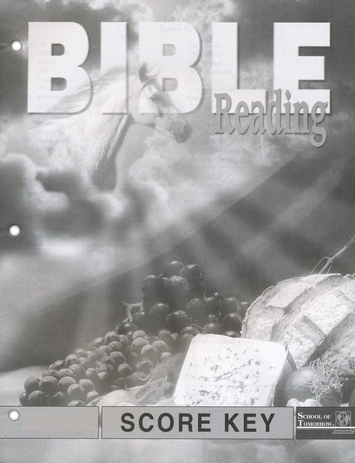 3rd Grade Bible Reading Answer Key 1025-1027 by Accelerated Christian  Education ACE