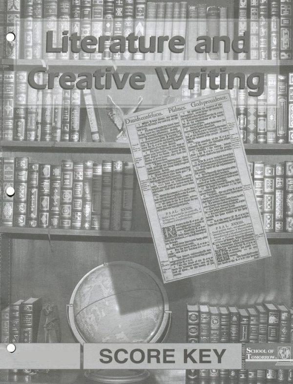 Literature and Creative Writing Answer Key 1034-1036