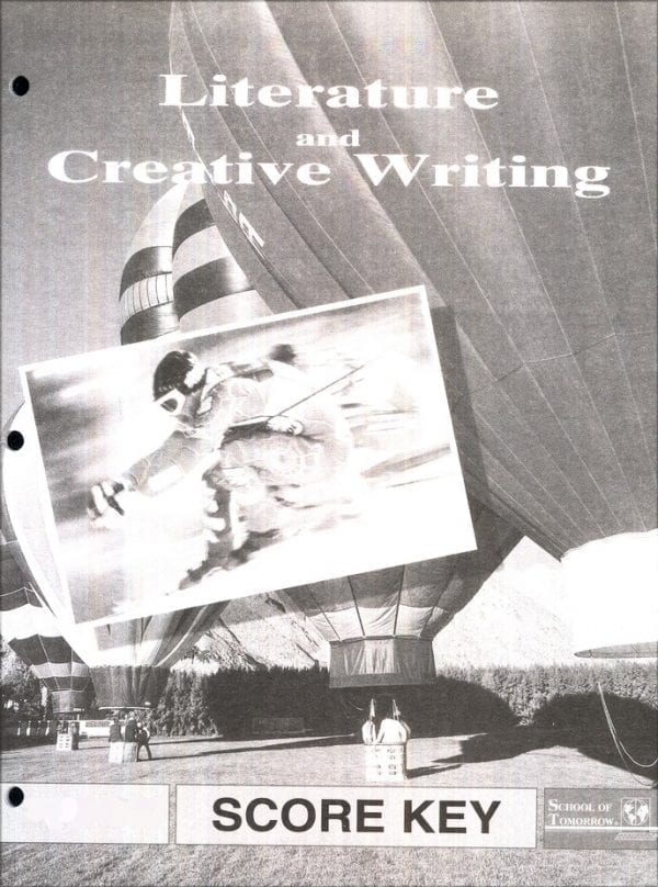 Literature and Creative Writing Answer Key 1067-1069