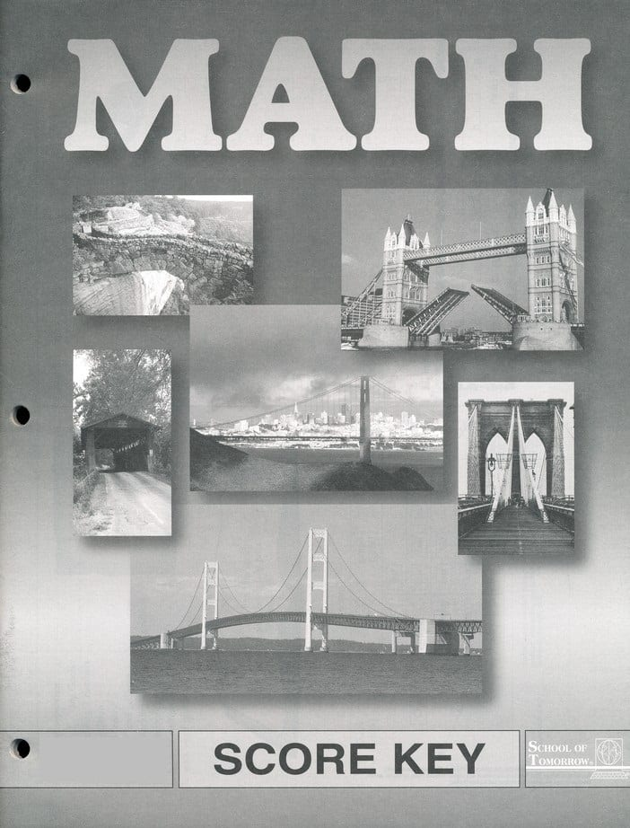 6th Grade Math Answer Key 1064 1066 By Accelerated Christian Education Ace