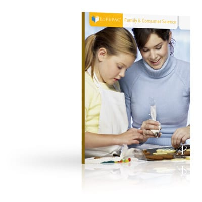 Family & Consumer Science Unit 8 Worktext from Alpha Omega Publications