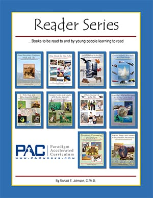 Primary Reader Series 10-Book Set from Paradigm Accelerated Curriculum