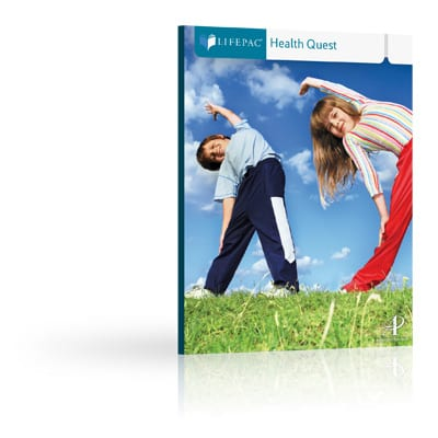 Health Quest Unit 4 Worktext from Alpha Omega Publications