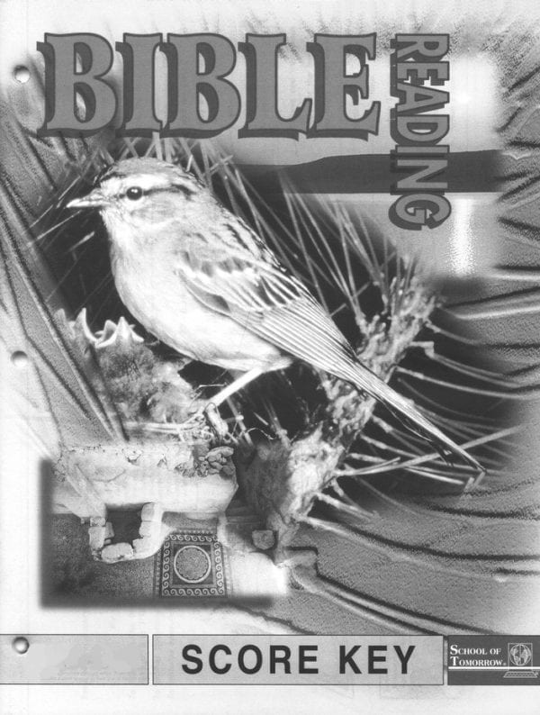2nd Grade Bible Reading Answer Key 1016-1018 by Accelerated Christian Education