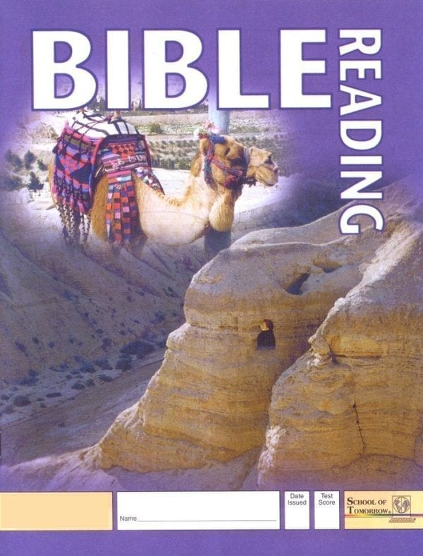 2nd Grade Bible Reading Pace 1019 by Accelerated Christian Education