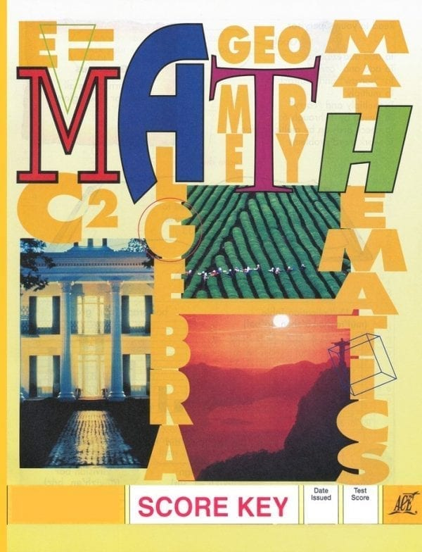 1st Grade Math Answer Key 1012 by Accelerated Christian Education