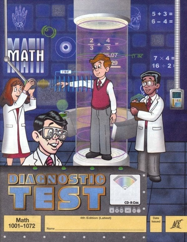 1st-6th Grade Math Diagnostic Test by Accelerated Christian Education