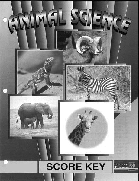2nd Grade Animal Science Answer Key 1016-1018 by Accelerated Christian Education