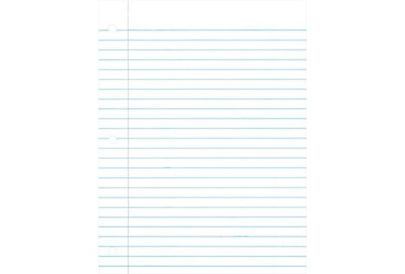 Wide Ruled Paper
