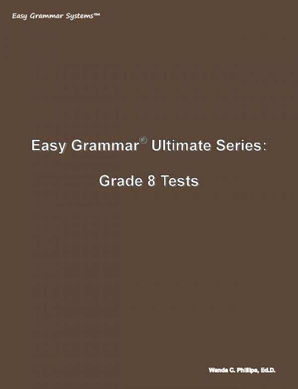 Grade 8 Tests