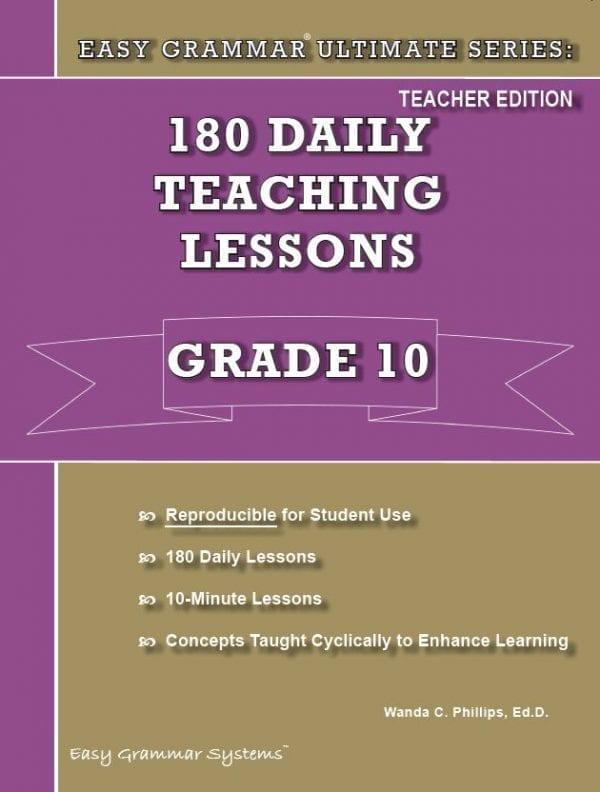 Grade 10 Teacher Edition