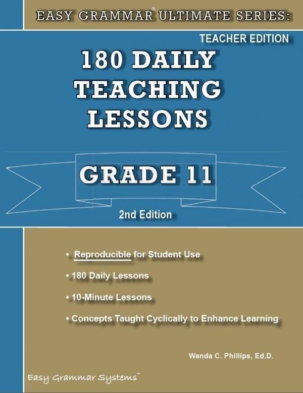 Grade 11 Teacher Edition