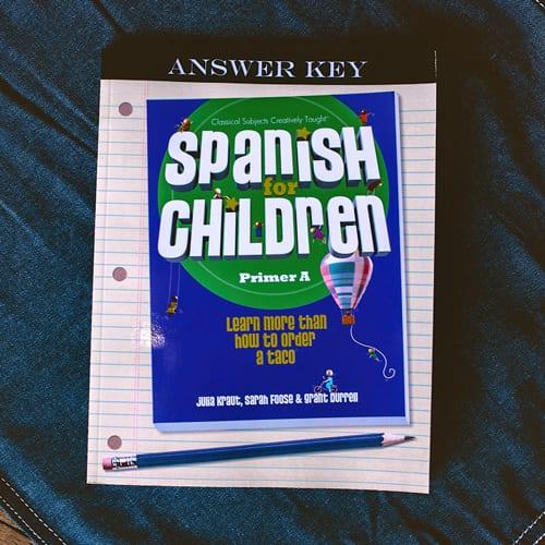 Spanish Primer A Answer Key