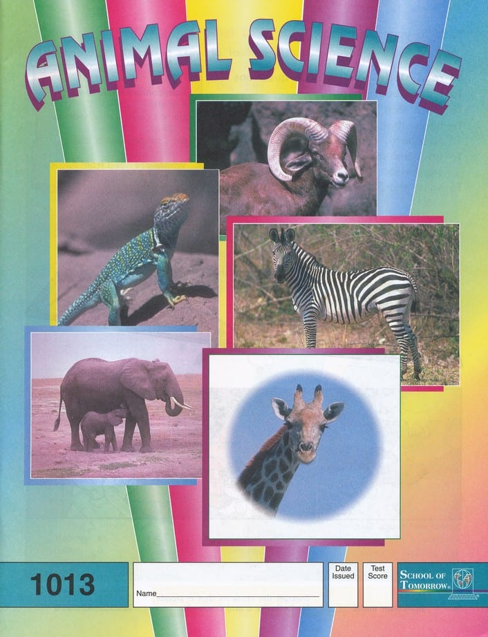 2nd grade animal science complete set from ace accelerated christian