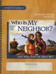 who is my neighbor notebook