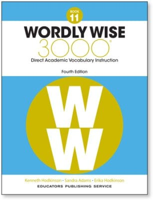 Wordly Wise 3000 4th Edition Grade 11 Student Book