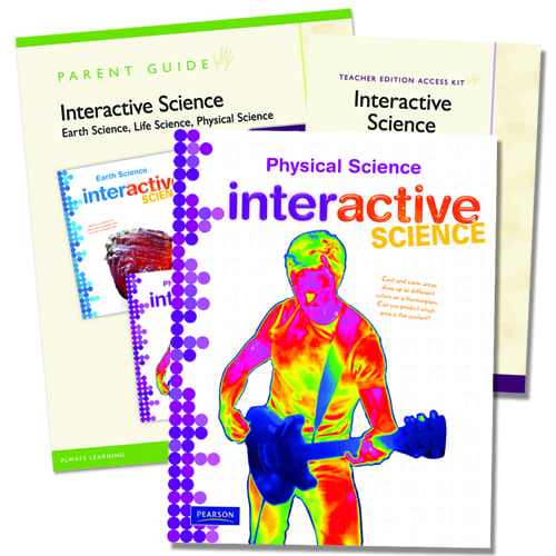Interactive Science Physical Science Homeschool Bundle From Pearson