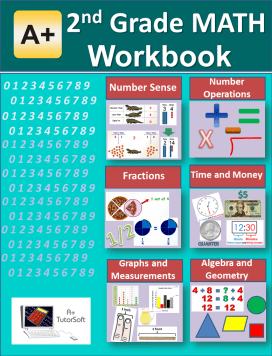 2nd Grade Math Workbook from A+ Interactive Math